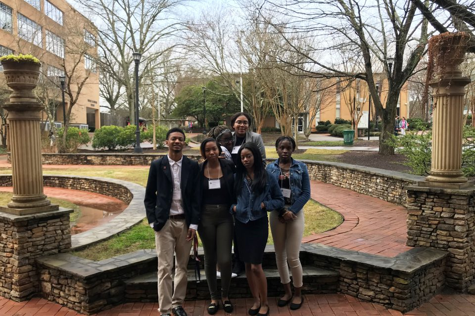 GCHS Debate Team at Kennesaw State University.
