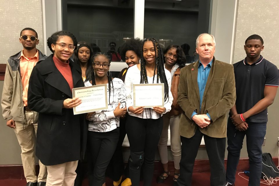GCHS Debate Team Competes At MS State, by Larry E. Burnette
